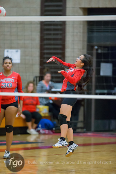 Minneapolis Southwest Lakers v Minneapolis Patrick Henry Patriots Volleyball on 13 September 2015