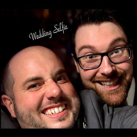 Wedding Selfie Aaron