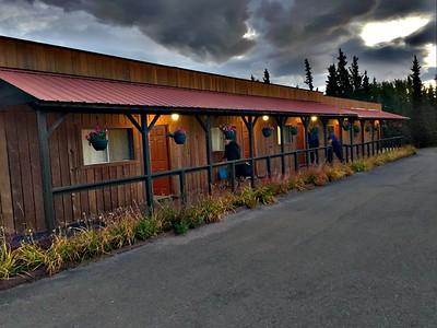 Outside of White Moose Lodge