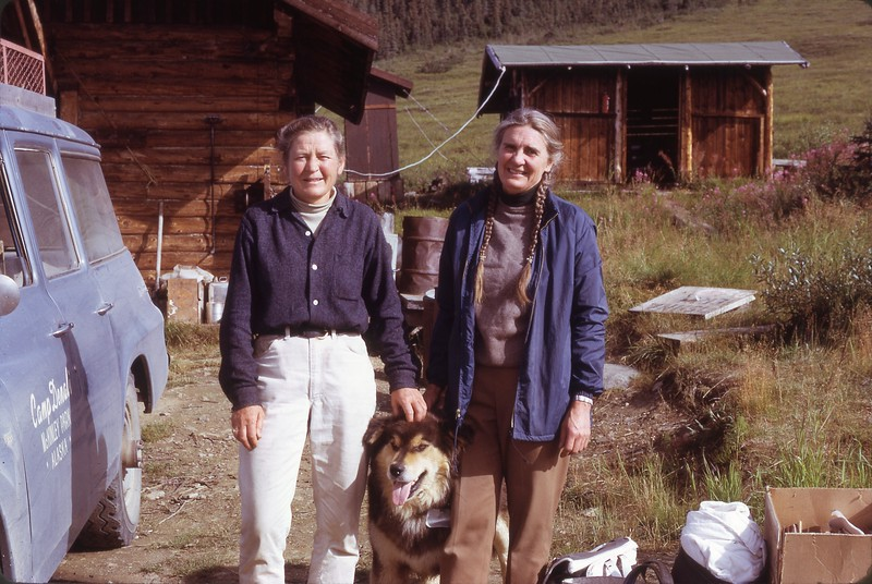 Ginny and Celia at Camp Denali