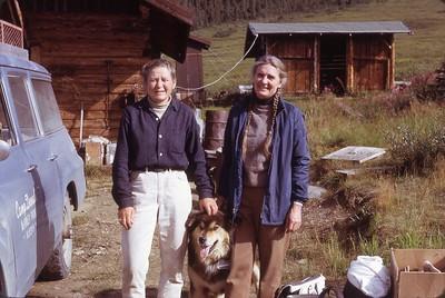 Ginny and Celia at Camp Denali