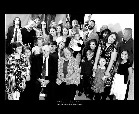 Family of Goofy Faces