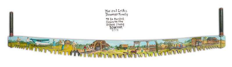 Bowmar-Family-Saw-Blade-Painting-Pano-2