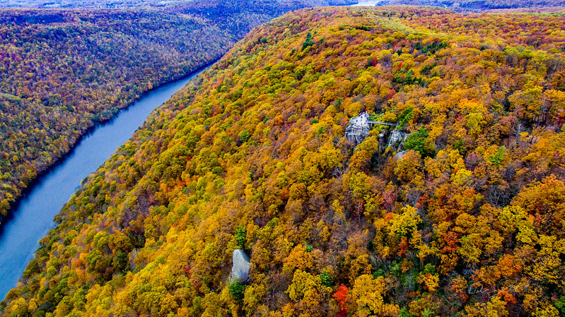 Above-Coopers-Rock-West-Virginia-Drone-7
