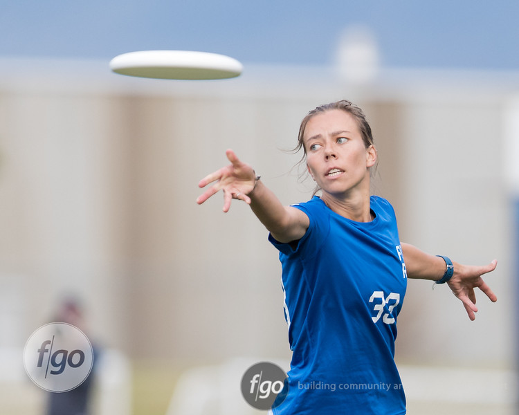 Denver Molly Brown v San Francisco Fury Women's Division semifinal game at 2017 USA Ultimate US Open in Blaine, Minnesota - Day 2