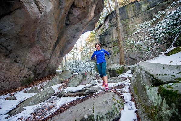 COOPERS; ROCK; 50k; and; Half; Marathon; West; Virginia; 437; Cooper Rocks; Coopers Rocks Foundation; Favorite things; HalfMarathon; Places; Race; Racers; Runners; Running; Seasons; Snow; Trail Running; West Virginia; Winter; photo by Gabe DeWitt; spring; trail