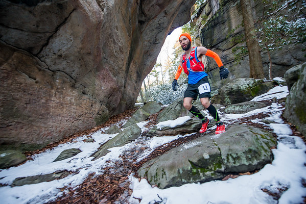 COOPERS; ROCK; 50k; and; Half; Marathon; West; Virginia; 453; Cooper Rocks; Coopers Rocks Foundation; Favorite things; HalfMarathon; Places; Race; Racers; Runners; Running; Seasons; Snow; Trail Running; West Virginia; Winter; photo by Gabe DeWitt; spring; trail