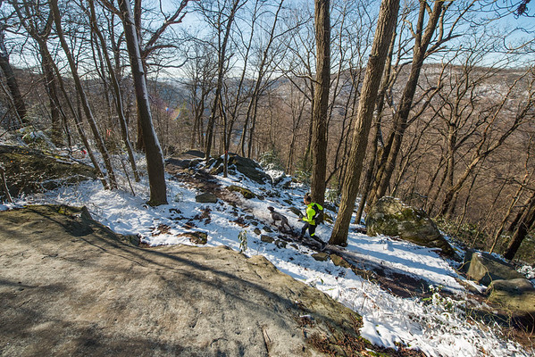 COOPERS; ROCK; 50k; and; Half; Marathon; West; Virginia; 519; Cooper Rocks; Coopers Rocks Foundation; Favorite things; HalfMarathon; Places; Race; Racers; Runners; Running; Seasons; Snow; Trail Running; West Virginia; Winter; photo by Gabe DeWitt; spring; trail