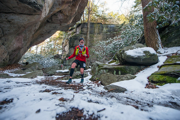 COOPERS; ROCK; 50k; and; Half; Marathon; West; Virginia; 479; Cooper Rocks; Coopers Rocks Foundation; Favorite things; HalfMarathon; Places; Race; Racers; Runners; Running; Seasons; Snow; Trail Running; West Virginia; Winter; photo by Gabe DeWitt; spring; trail