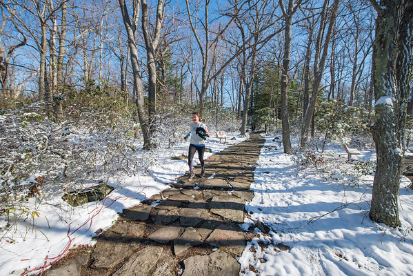 COOPERS; ROCK; 50k; and; Half; Marathon; West; Virginia; 596; Cooper Rocks; Coopers Rocks Foundation; Favorite things; HalfMarathon; Places; Race; Racers; Runners; Running; Seasons; Snow; Trail Running; West Virginia; Winter; photo by Gabe DeWitt; spring; trail