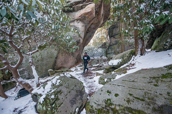 COOPERS; ROCK; 50k; and; Half; Marathon; West; Virginia; 506; Cooper Rocks; Coopers Rocks Foundation; Favorite things; HalfMarathon; Places; Race; Racers; Runners; Running; Seasons; Snow; Trail Running; West Virginia; Winter; photo by Gabe DeWitt; spring; trail
