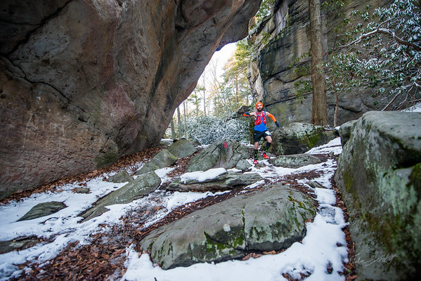 COOPERS; ROCK; 50k; and; Half; Marathon; West; Virginia; 451; Cooper Rocks; Coopers Rocks Foundation; Favorite things; HalfMarathon; Places; Race; Racers; Runners; Running; Seasons; Snow; Trail Running; West Virginia; Winter; photo by Gabe DeWitt; spring; trail