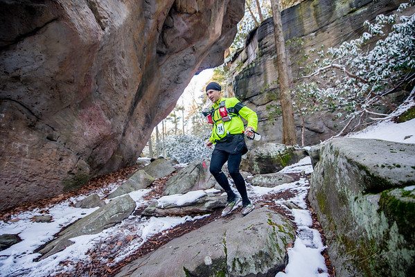 COOPERS; ROCK; 50k; and; Half; Marathon; West; Virginia; 432; Cooper Rocks; Coopers Rocks Foundation; Favorite things; HalfMarathon; Places; Race; Racers; Runners; Running; Seasons; Snow; Trail Running; West Virginia; Winter; photo by Gabe DeWitt; spring; trail