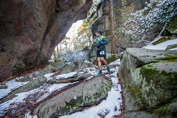 COOPERS; ROCK; 50k; and; Half; Marathon; West; Virginia; 444; Cooper Rocks; Coopers Rocks Foundation; Favorite things; HalfMarathon; Places; Race; Racers; Runners; Running; Seasons; Snow; Trail Running; West Virginia; Winter; photo by Gabe DeWitt; spring; trail
