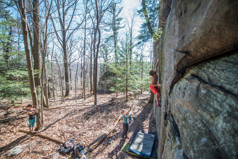 Coopers-Rock-Bouldering-April-2017-61