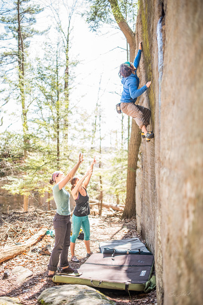 Coopers-Rock-Bouldering-April-2017-5
