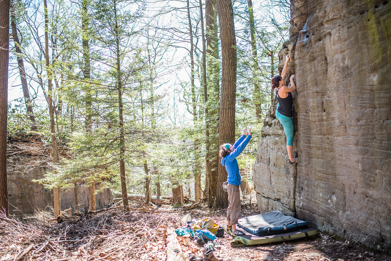 Coopers-Rock-Bouldering-April-2017-10