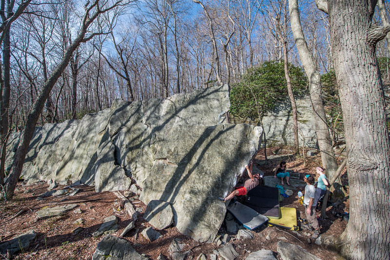 Coopers-Rock-Bouldering-April-2017-73