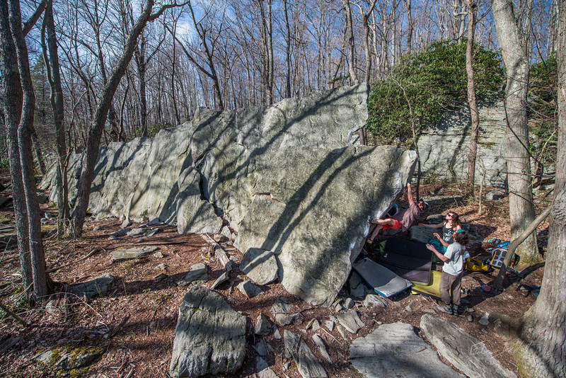 Coopers-Rock-Bouldering-April-2017-77