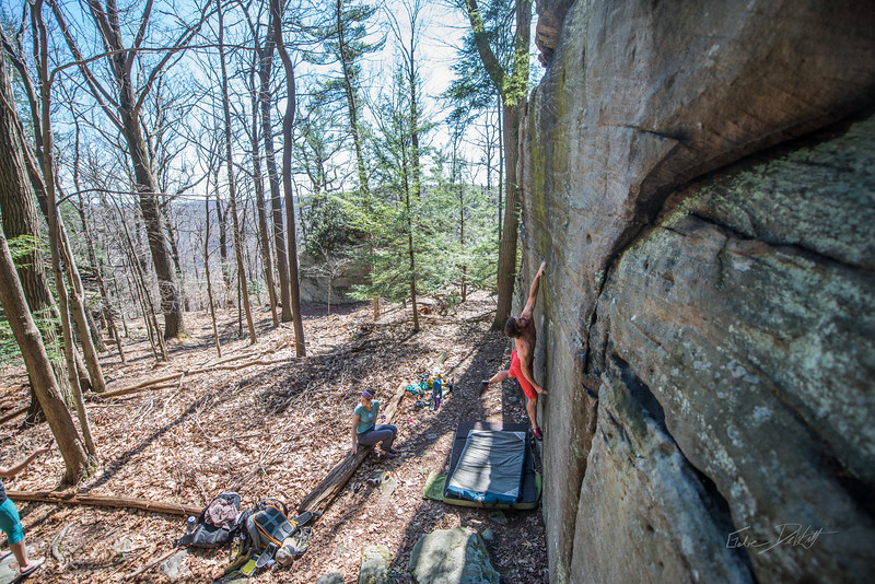 Coopers-Rock-Bouldering-April-2017-49