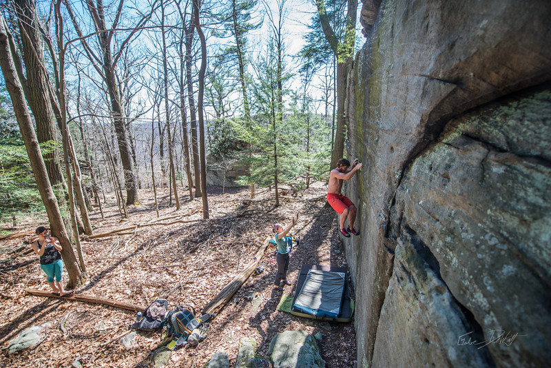 Coopers-Rock-Bouldering-April-2017-57