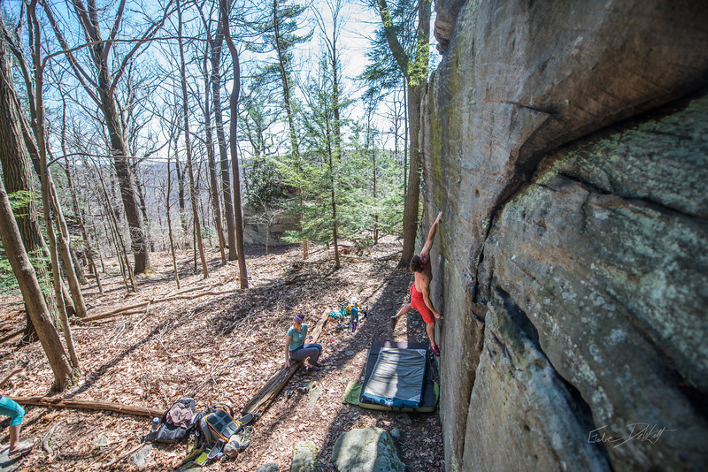 Coopers-Rock-Bouldering-April-2017-50