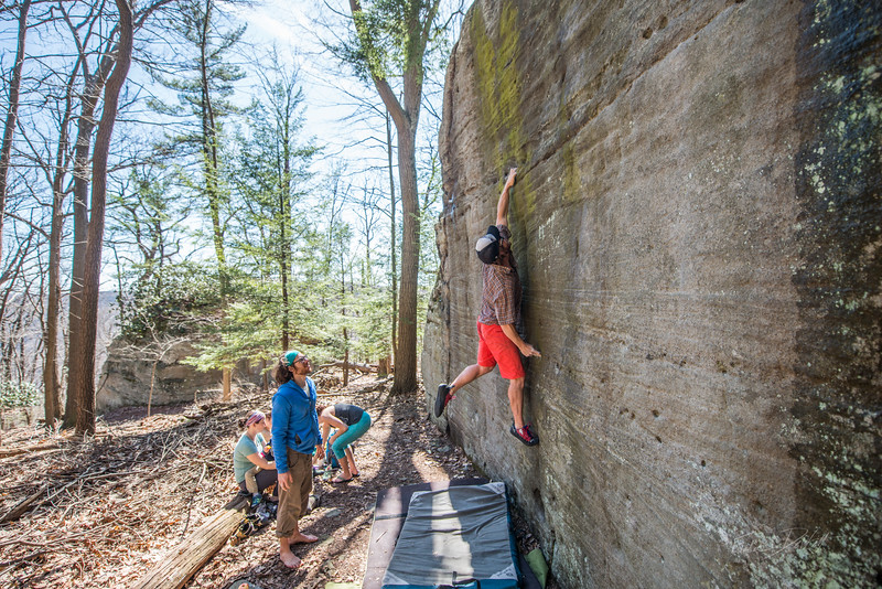 Coopers-Rock-Bouldering-April-2017-28