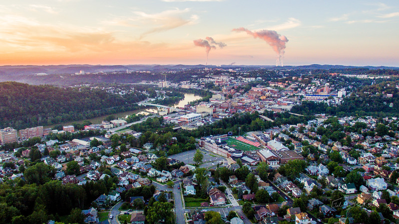 Above-Morgantown-West-Virginia-Drone-30