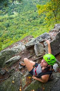 Seneca-Rocks-climbing-&-Paw-Paw-Picking-WV-2017_September 17, 2017_2