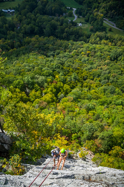Seneca-Rocks-climbing-&-Paw-Paw-Picking-WV-2017_September 17, 2017_18