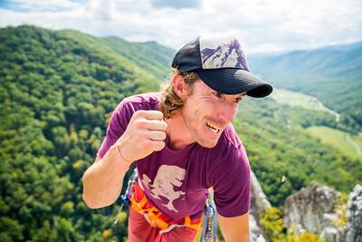 Seneca-Rocks-climbing-&-Paw-Paw-Picking-WV-2017_September 17, 2017_13