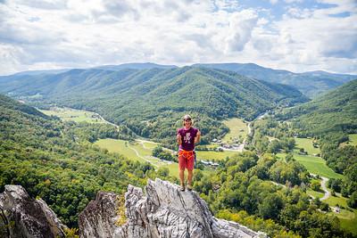 Seneca-Rocks-climbing-&-Paw-Paw-Picking-WV-2017_September 17, 2017_8