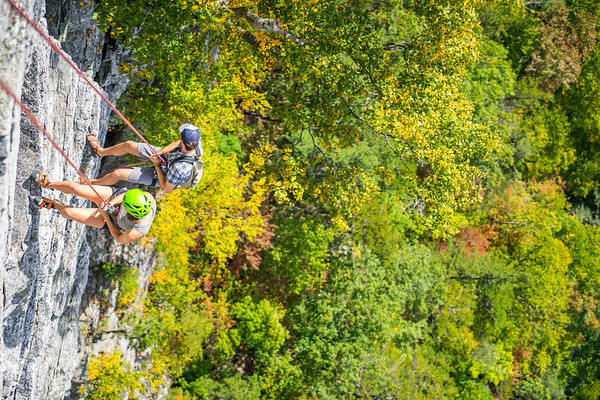 Seneca-Rocks-climbing-&-Paw-Paw-Picking-WV-2017_September 17, 2017_19