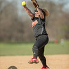 Minneapolis South v Minneapolis Roosevelt Softball at Nokomis Park on 17 April 2017