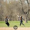 Minneapolis South v Minneapolis Roosevelt Softball at Nokomis Park on 17 April 2017