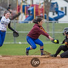 Minneapolis Roosevelt Teddies v Minneapolis Edison Tommies Softball on 18 April 2017