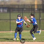 Minneapolis Washburn v Minneapolis South Softball at Neiman Sports Complex on 21 April 2017
