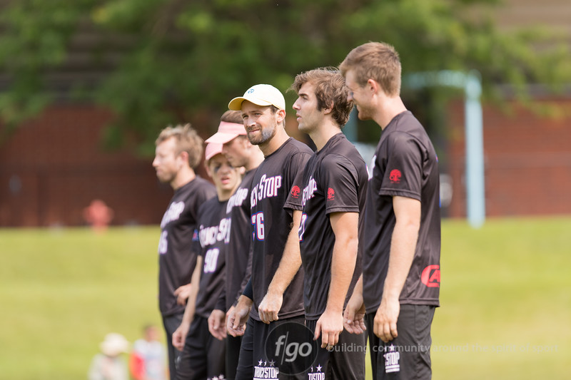 Seattle Sockeye v Washington D.C. Truckstop Men's Division semifinal game at 2017 USA Ultimate US Open in Blaine, Minnesota - Day 2