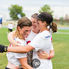 Medellin Colombia Revolution v Denver Molly Brown Women's Division championship final game at 2017 USA Ultimate US Open in Blaine, Minnesota