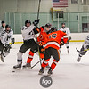 Delano Tigers v Minneapolis Warriors at Parade Ice Garden on 19 December 2017
