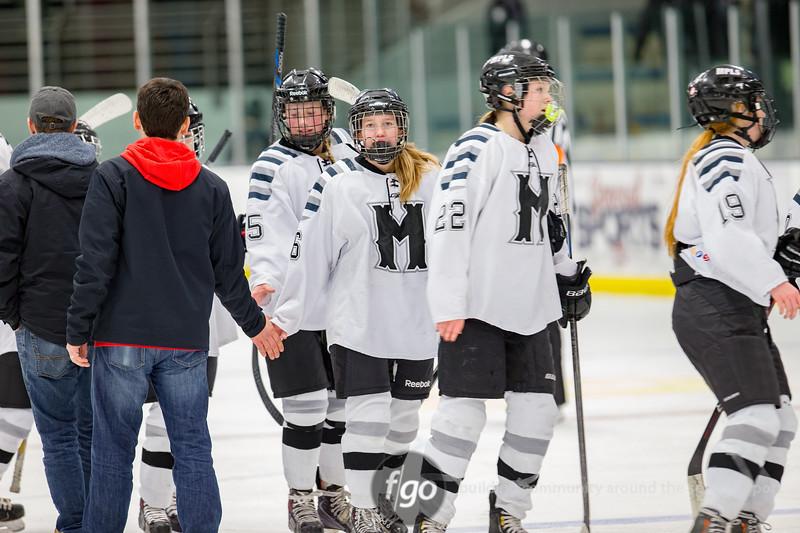 Minnehaha United v Minneapolis Girls Hockey  on 12 January 2017