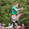University of Wisconsin Hodag v University of Minnesota Grey Duck Men's Division pool play at day 2 of USA Ultimate D1 College National Championships in Mason, Ohio
