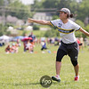 University of Michigan Flywheel v University of Virginia Hydra Women's Division pre-quarters at day 2 of USA Ultimate D1 College National Championships in Mason, Ohio