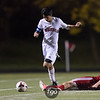 Robbinsdale Armstrong Falcons v Minneapolis Washburn Millers Boys Soccer Sectional at Washburn on October 12, 2017