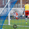 St. Louis Park Orioles v Minneapolis Washburn Millers Boys Soccer Sections at Washburn on October 14, 2017
