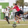 Denver Johnny Bravo v Boston DIG Men's Division Pool Play at the USA Ultimate National Championships in Sarasota - Bradenton, Florida on 19 October 2017