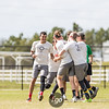 San Francisco Revolver v Raleigh Ring of Fire Men's Division Semifinal at USA Ultimate Nationals in Sarasota-Bradenton, Florida on 21 October 2017