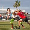 Seattle BFG v Philadelphia AMP Mixed Division Semifinal at USA Ultimate Nationals in Sarasota-Bradenton, Florida on 21 October 2017