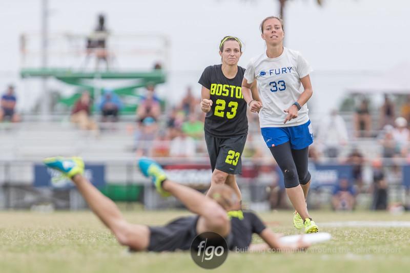 Boston Brute Squad v San Francisco Fury Women's Division Final at USA Ultimate National Championships in Sarasota Bradenton, Florida on October 22, 2017