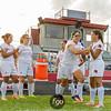 Minneapolis Edison Tommies v Minneapolis Patrick Henry Patriots Girls Soccer at Henry on 7 September 2017